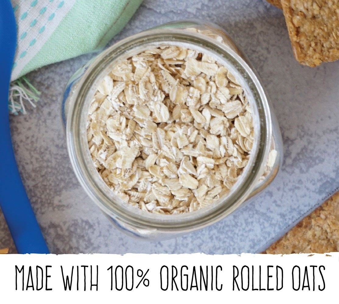 Bobo's Oat Bites (Coconut, 24 Pack Box of 1.3 oz Bites) Gluten Free Whole Grain Rolled Oat Snack- Great Tasting Vegan On-The-Go Snack, Made in the USA by Bobo's (Image #3)