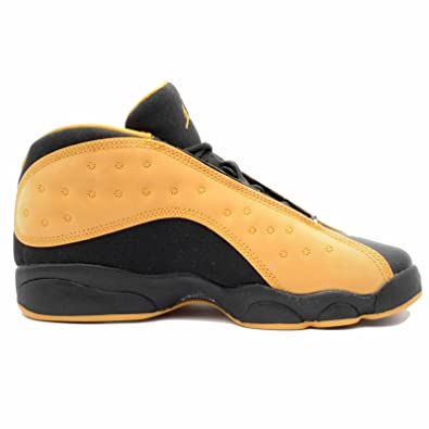 e84b24bd5fe8 Image Unavailable. Image not available for. Color  Nike Air Jordan 13 Retro  Low BG Black Chutney ...