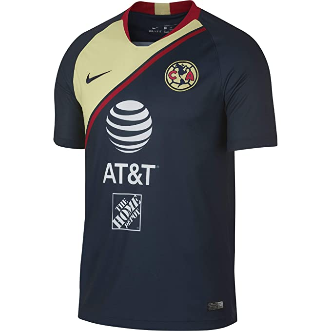 Nike Club America Away - Playera de fútbol del Estadio 2018 19 ... 8d039f2d6840a