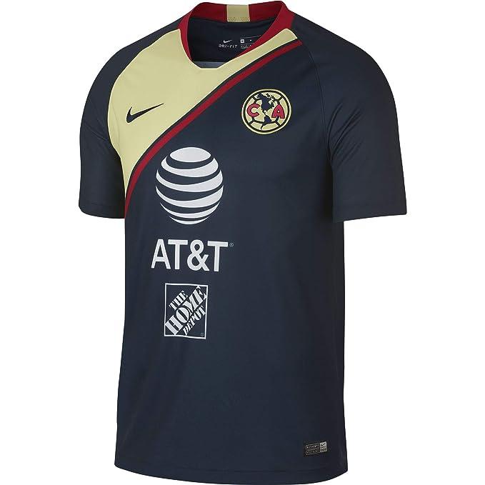Nike Club America Away - Playera de fútbol del Estadio 2018 19 ... bfa7d369e4cb8
