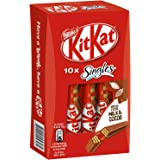 Nestle KitKat Singles Milk and Cocoa Chocolate Bars, 10x15.2g