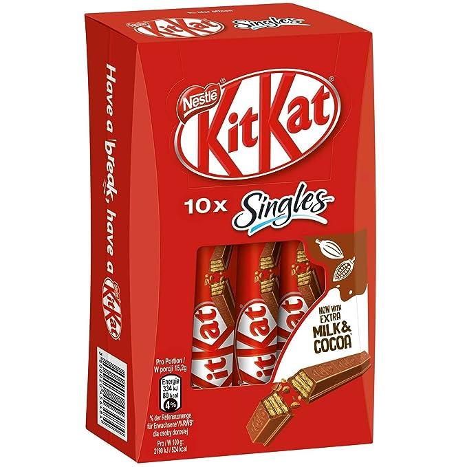 Kitkat Singles Calories In 1 Miniature Bar Of Kit Kat