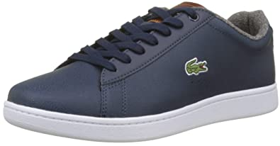 5f92cfb052 Lacoste Men s Carnaby Evo 318 2 SPM Trainers  Amazon.co.uk  Shoes   Bags
