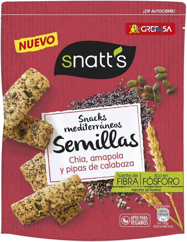 Grefusa Pan Especial Horneado con Semillas de Calabaza, Amapola y ...