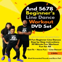 And 5678 Beginner's Line Dance Cardio Workout