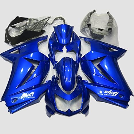 Amazon.com: ABS Injection Molding - Deep Blue Fairing Kit ...