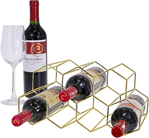 Tabletop Honeycomb Wine Rack