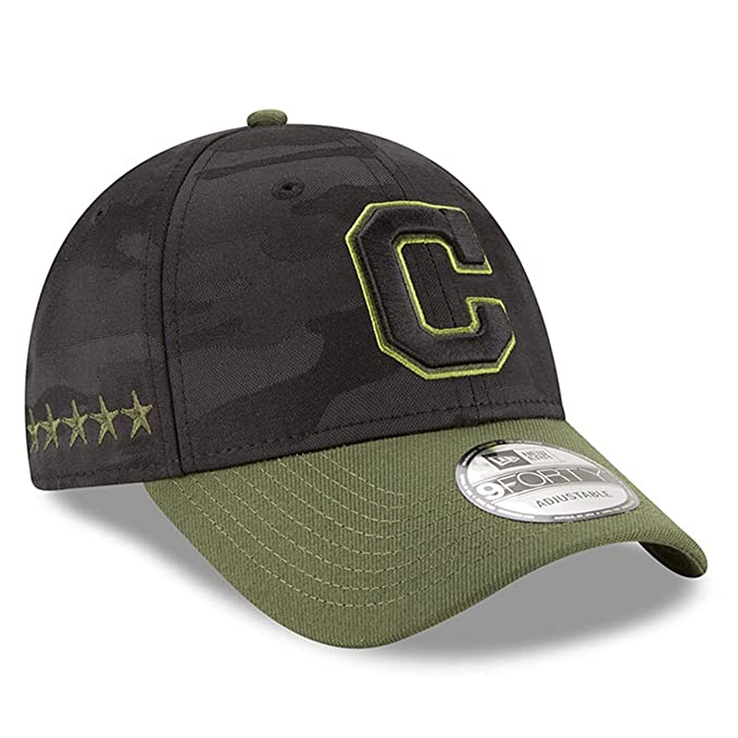 New Era Cleveland Indians 2018 Memorial Day 9 FORTY Gorra Ajustable ... 3628a15daf1