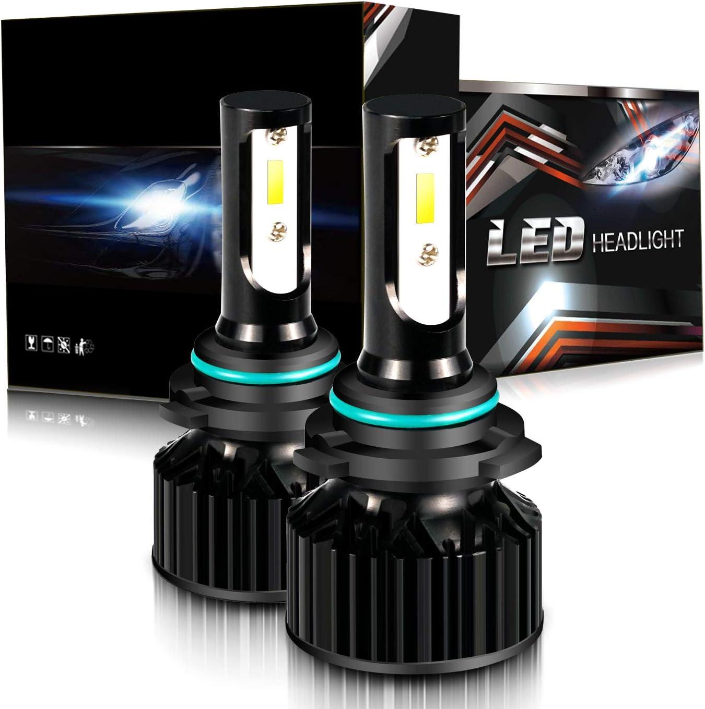 2* New 9006 HB4 LED Headlight Bulbs For Chevrolet GMC Low Beam 8000LM 6000K 50W