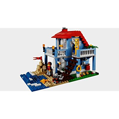 LEGO Creator 7346 Seaside House (415 Pieces): Toys & Games