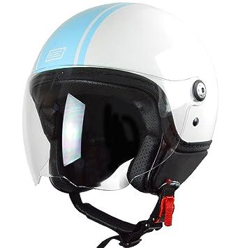 Origine Helmets Mio Dandy Casco Abierta, Turquesa, M