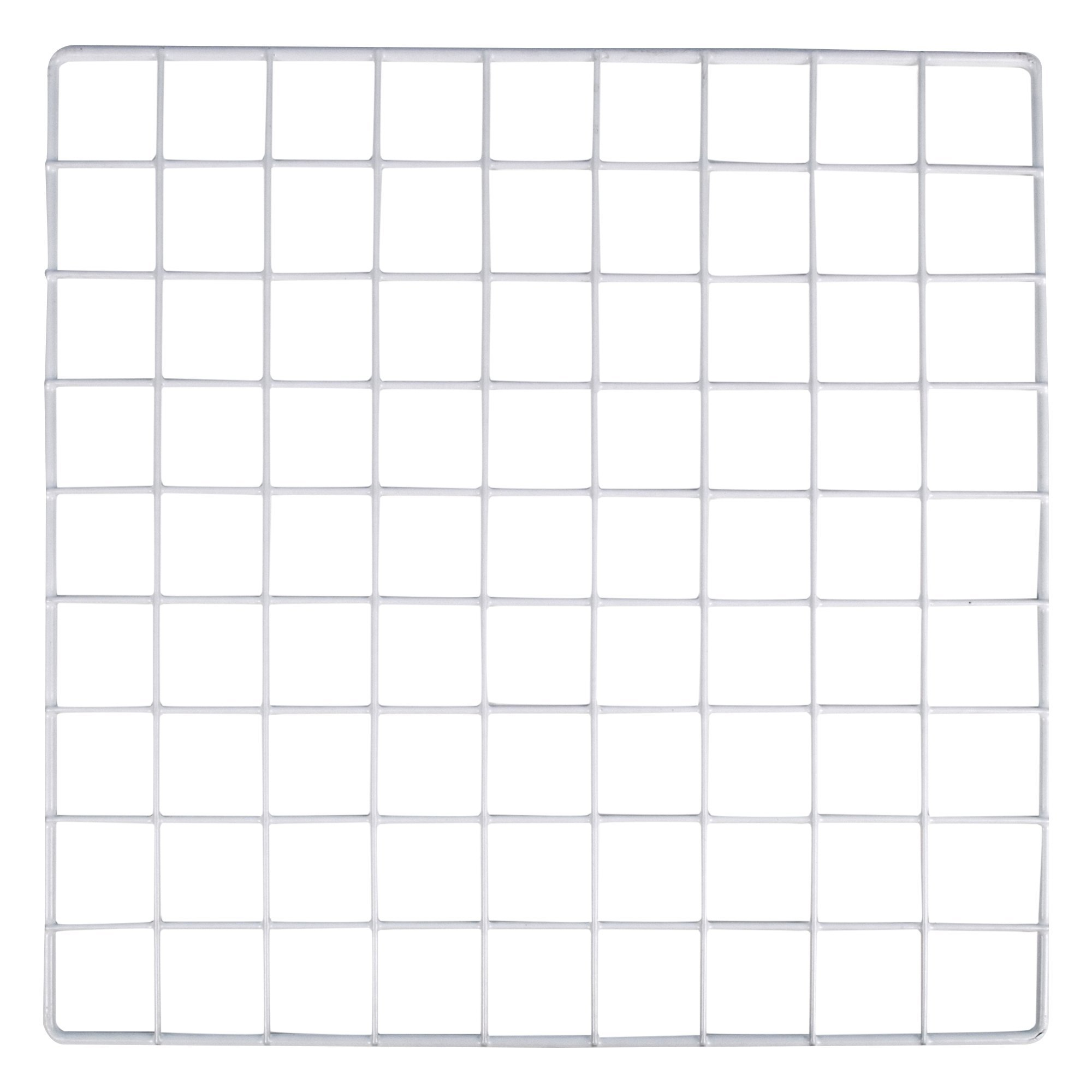 KC Store Fixtures A04110 Mini Grid, 14'' x 14'', White (Pack of 48)