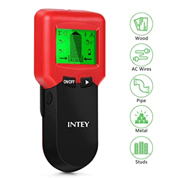 INTEY Detector de Pared 3 en 1, Multifuncional, escáner de Pared, Detector de