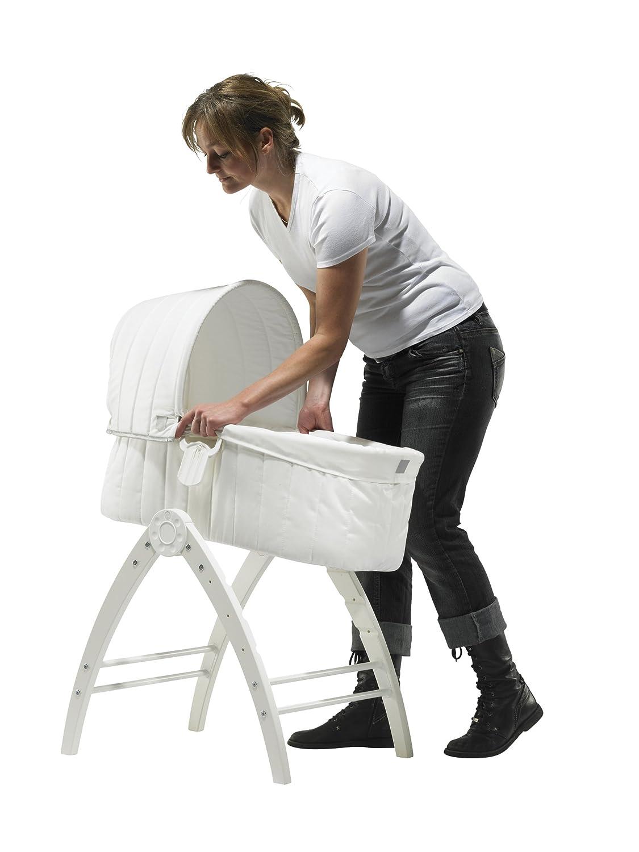 BabyDan Berceau+Chaise Longue+Chaise Haute Angel Blanc
