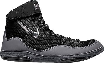 a961590a7310fe Amazon.com  Nike Men s Inflict 3 Wrestling Shoes (Orange Grey
