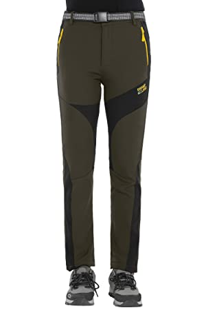dcd126bd6001f Softshell Trousers Womens Winter Fleece Lined Trousers Waterproof Hiking  Pants Outdoor Camping Trouser, Style 4