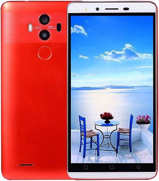 Garciasia Smartphone M10-5.0 Pulgadas para Android para iOS 5.1 4G RAM 32G ROM 1700mAh (Color: Rojo): Amazon.es: Hogar