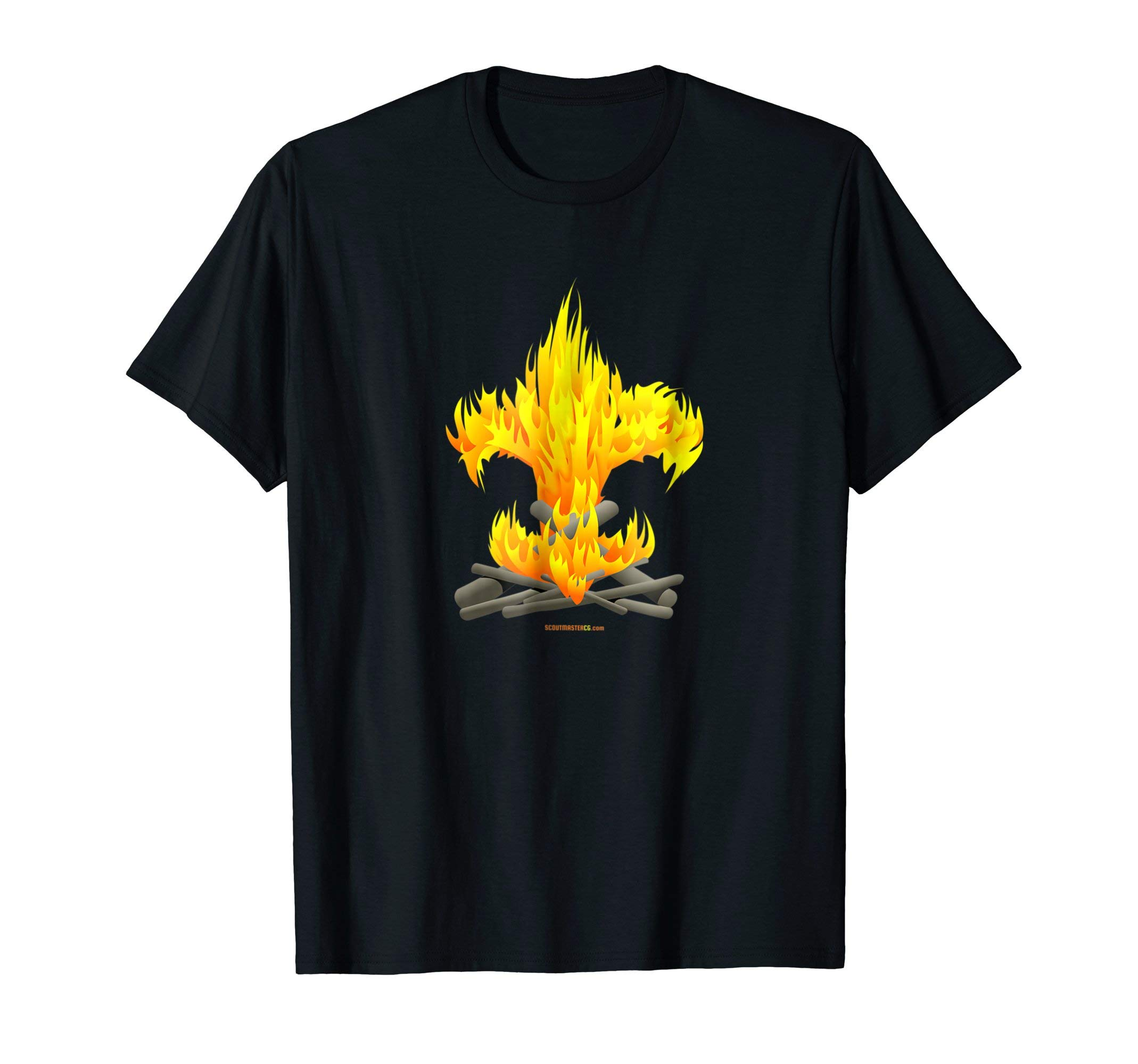 Fire Tee - Original Design by Scoutmastercg.com