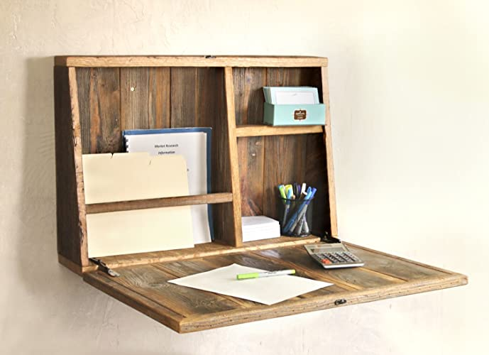 drop down secretary desk wall mounted desk