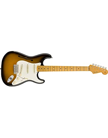 Fender Eric Johnson Thinline Stratocaster Electric Guitar 2-Color Sunburst W/ CASE TGF33