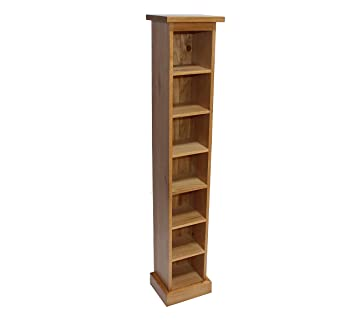 Merveilleux Solid Oak Cd Storage Tower Holds 105 Cds Furniture