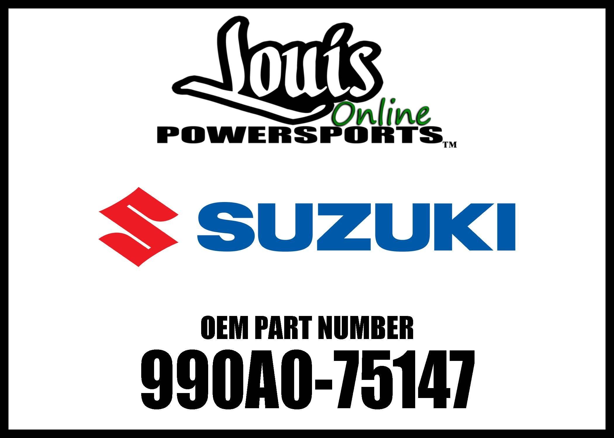 Suzuki 990A0-75147 Chrome Engine Guard
