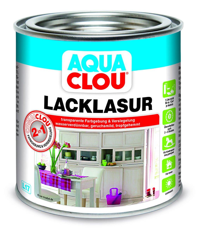Aqua Combi-Clou Lack-Lasur 0,375 L, kiefernblond Alfred Clouth Lackfabrik GmbH Co. KG