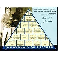 $249 » John Wooden signed photo Pyramid of Success PSA/DNA UCLA Coach autograph