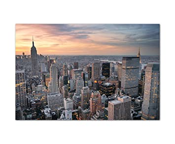 New York Leinwandbild ~ Amazon.de: 120x80cm fotodruck auf leinwand und rahmen new york
