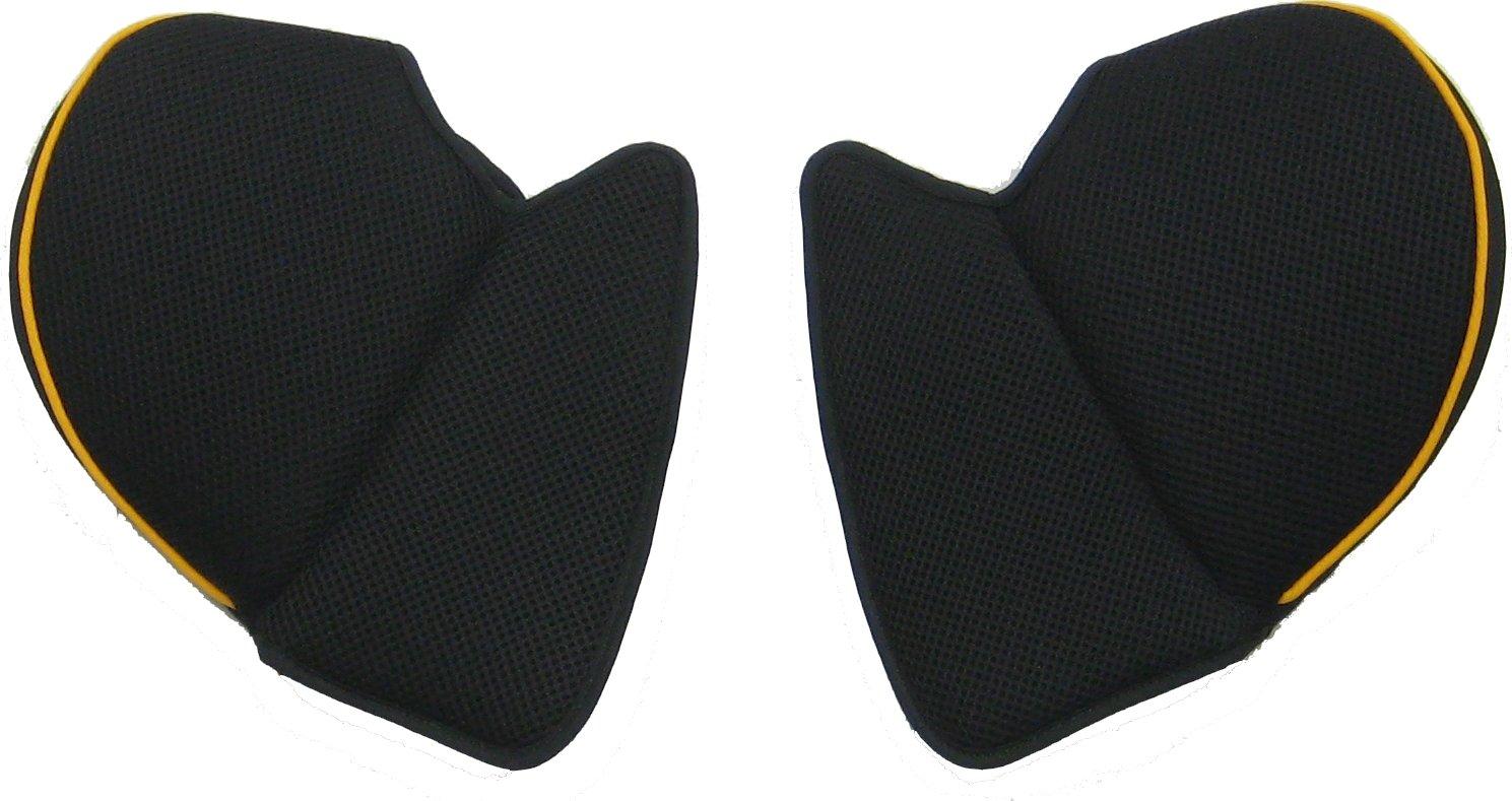Takata seat cushion shoulder (left and right set) (takata312-smartfix junior black / for Orange) AFJWG-004