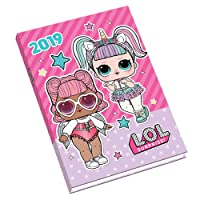 LOL Surprise Keepsake A6 Official 2019 Diary - A6 Diary Format