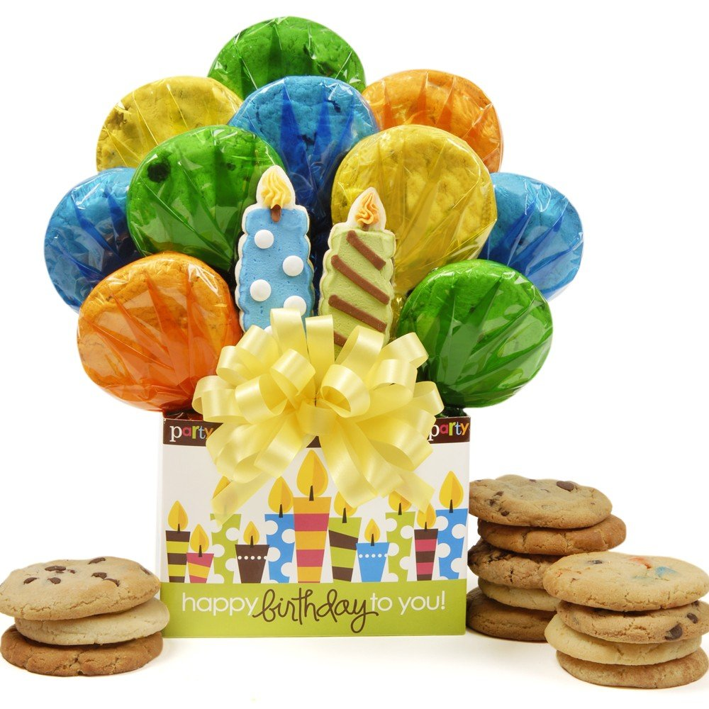 Birthday Candles Bouquet by Cookie Bouquets