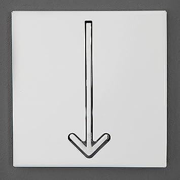 Design Delights Originelle Wandgarderobe Pointer Garderobenhaken 1er