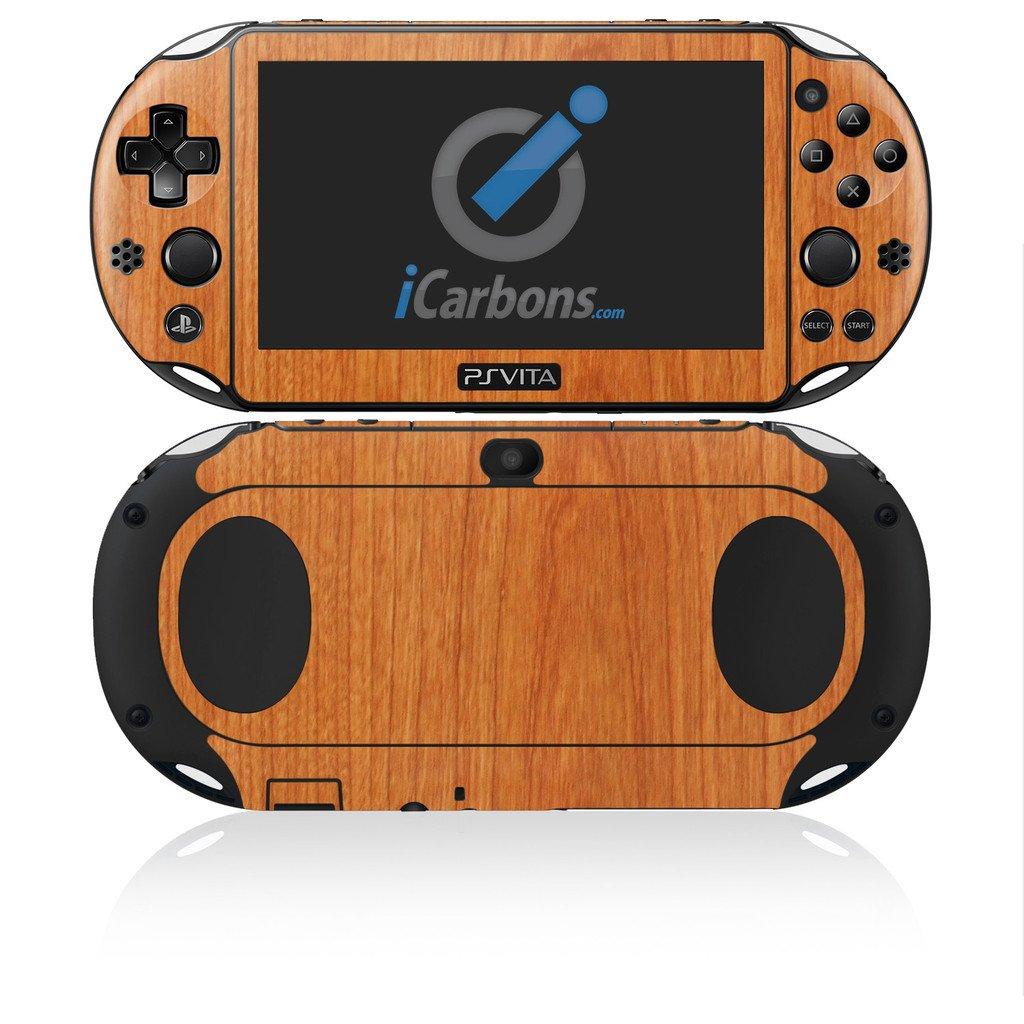 iCarbons Light Wood Vinyl Skin for PS Vita Slim (2000) Playstation