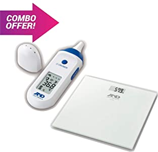 AND UT-801 INFRARED NON CONTACT THERMOMETER WITH DUAL MEASUREMENT MODE