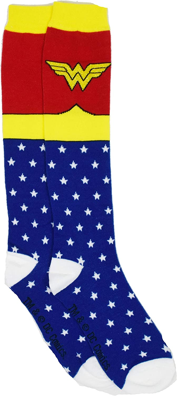 Shoe Size Wonder Woman Superhero Socks 4-10