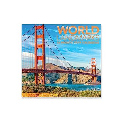 2018 bridges wall calendar mead