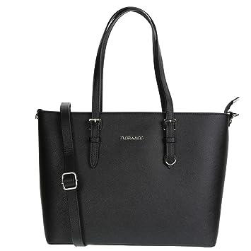 7da624546f5bf Flora   Co - Paris - Grand sac à main Femme F9126, Cabas, Lycéenne ...
