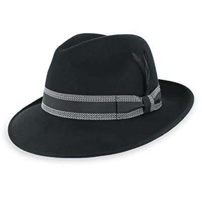 fbf9fe294b2 14. best dress fedora – Belfry Crushable Dress Fedora Men's Vintage Style  Hat 100% Pure Wool in Black Blue Grey Pecan Brown and Striped Bands