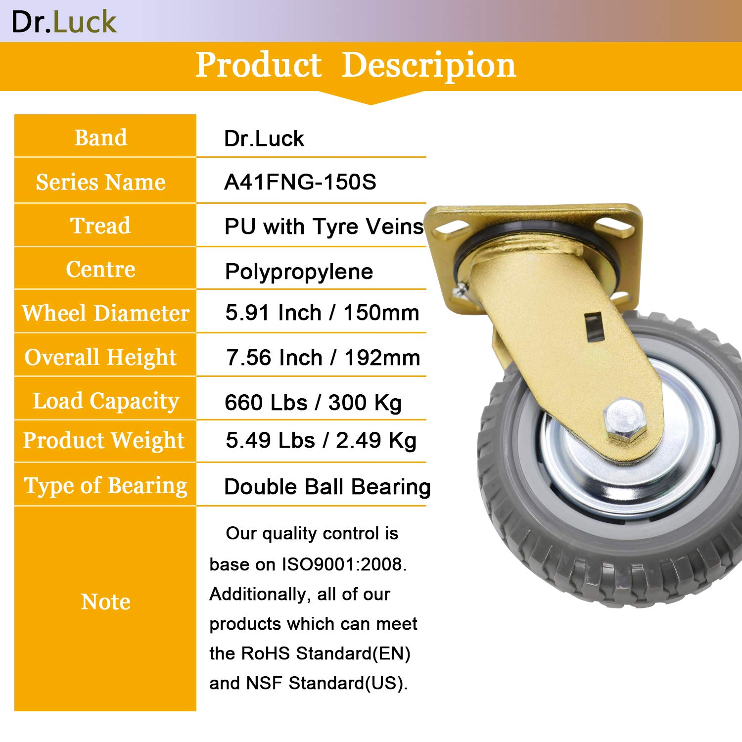 Castors Diy Tools 2 Pu Spring Loaded Swivel Caster Heavy Duty 110 Lbs Load Capacity Nrpfell Gate Stem Wheel A quick online weight calculator to convert pounds(lb) to kilograms(kg). castors diy tools 2 pu spring loaded
