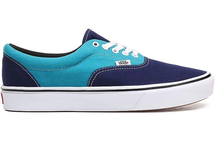 Vans Herren Damen Unisex Sneaker ComfyCush Era Hellblau / Dunkelblau Größe EU 36,5