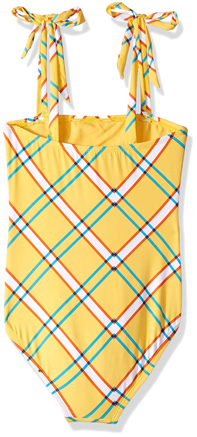 Hobie Womens Lace-up Crossback High Leg One Piece Swimsuit