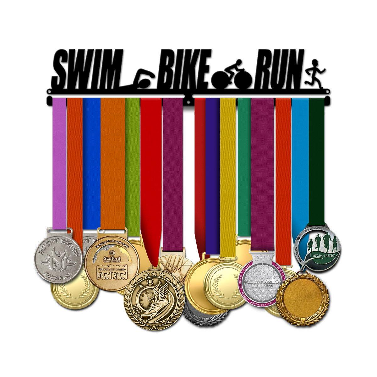 Swim Bike Run Men - Triathlon Medal Hanger
