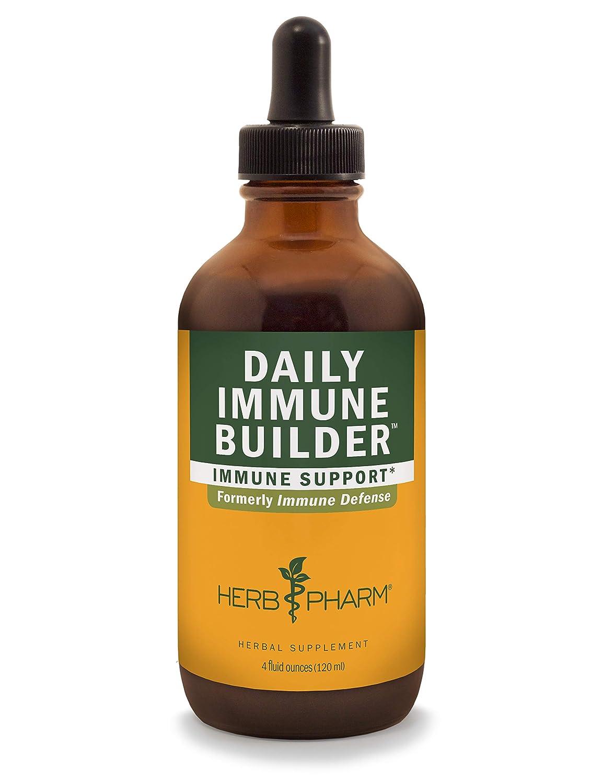 Herb Pharm Daily Immune Builder Herbal Immune System Defense Liquid – 4 Ounce