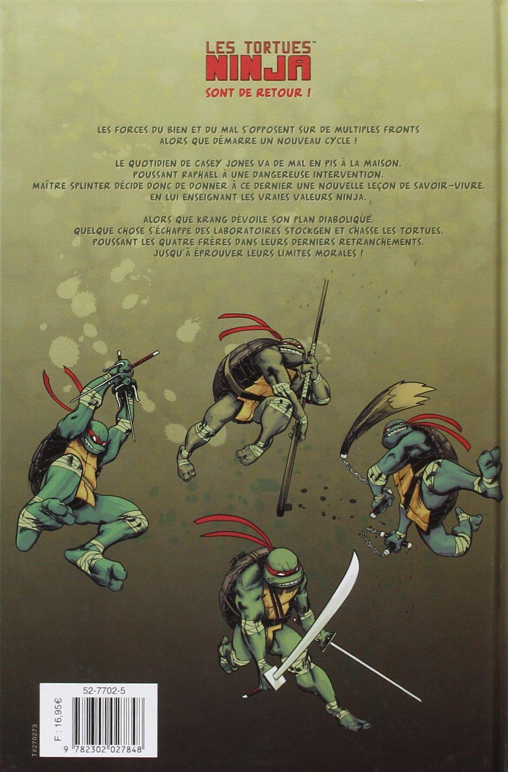 Les Tortues Ninja, Tome 4 : Les péchés du père ...