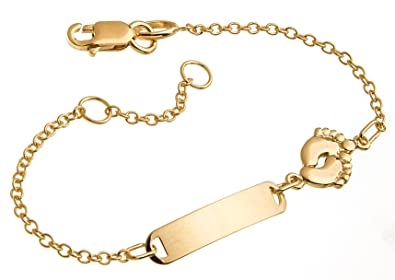 baby armband gold mit gravur