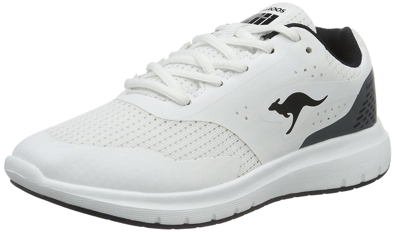 Kangaroos Start One W, Zapatillas para Mujer, Blanco (White/Black 005), 42 EU