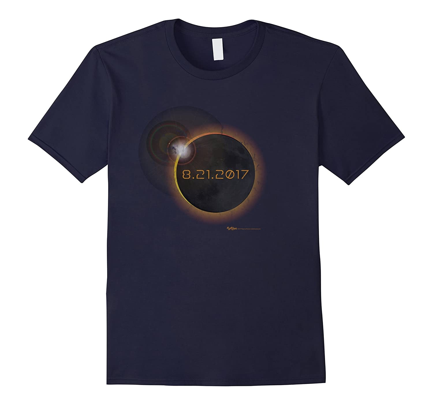 8-21-17 Total Solar Eclipse Astronomy T Shirt-Art