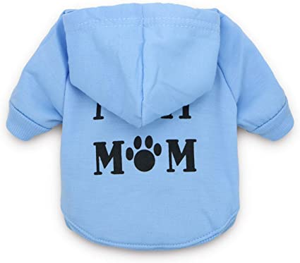 DroolingDog Dog Shirt Summer Puppy Clothes Pet TShirts for Small Dogs XS Grey