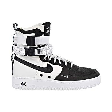 finest selection d336f 17427 Amazon.com | Nike SF Air Force 1 Men's Shoes Black/White ...